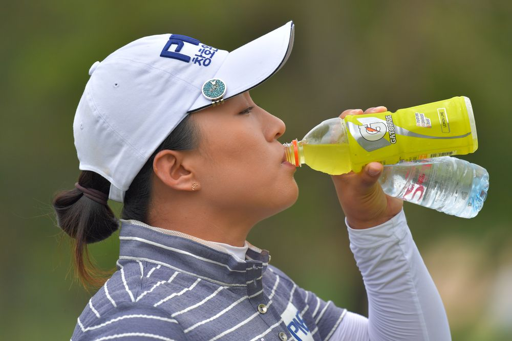 Amy Yang Womens Golf You Might Need Water Womensgolfcom