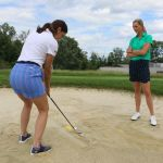 Sand Trouble? - Build a Bunker Board - Stephanie Bednar for WomensGolf.com
