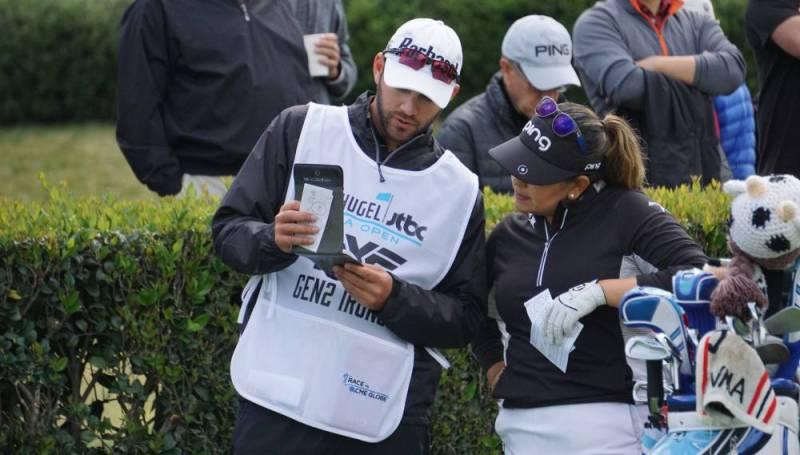 Lizette Salas LA Open - Course Management Golf Tips - Photographer Ben Harpring