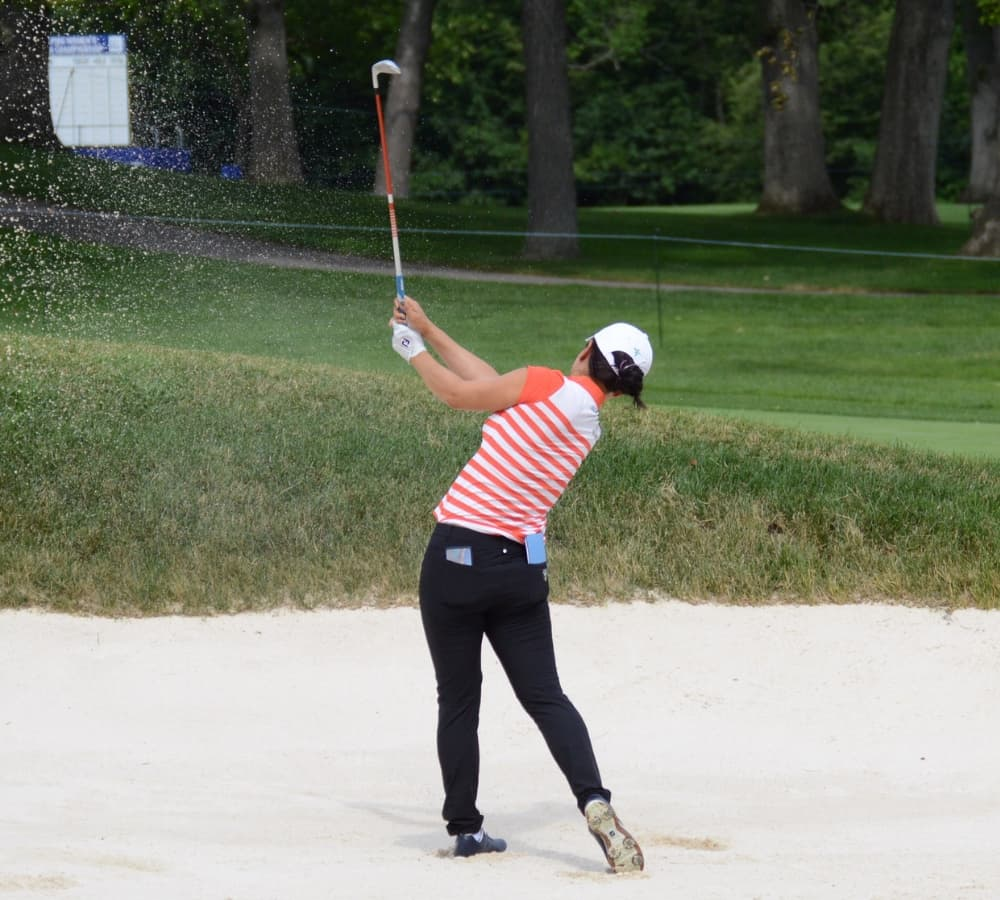 Hee Young Park at the 2017 Womens PGA Championship