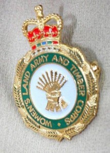Women's Land Army and Timber Corps Veteran's Badge Source: Stuart Antrobus