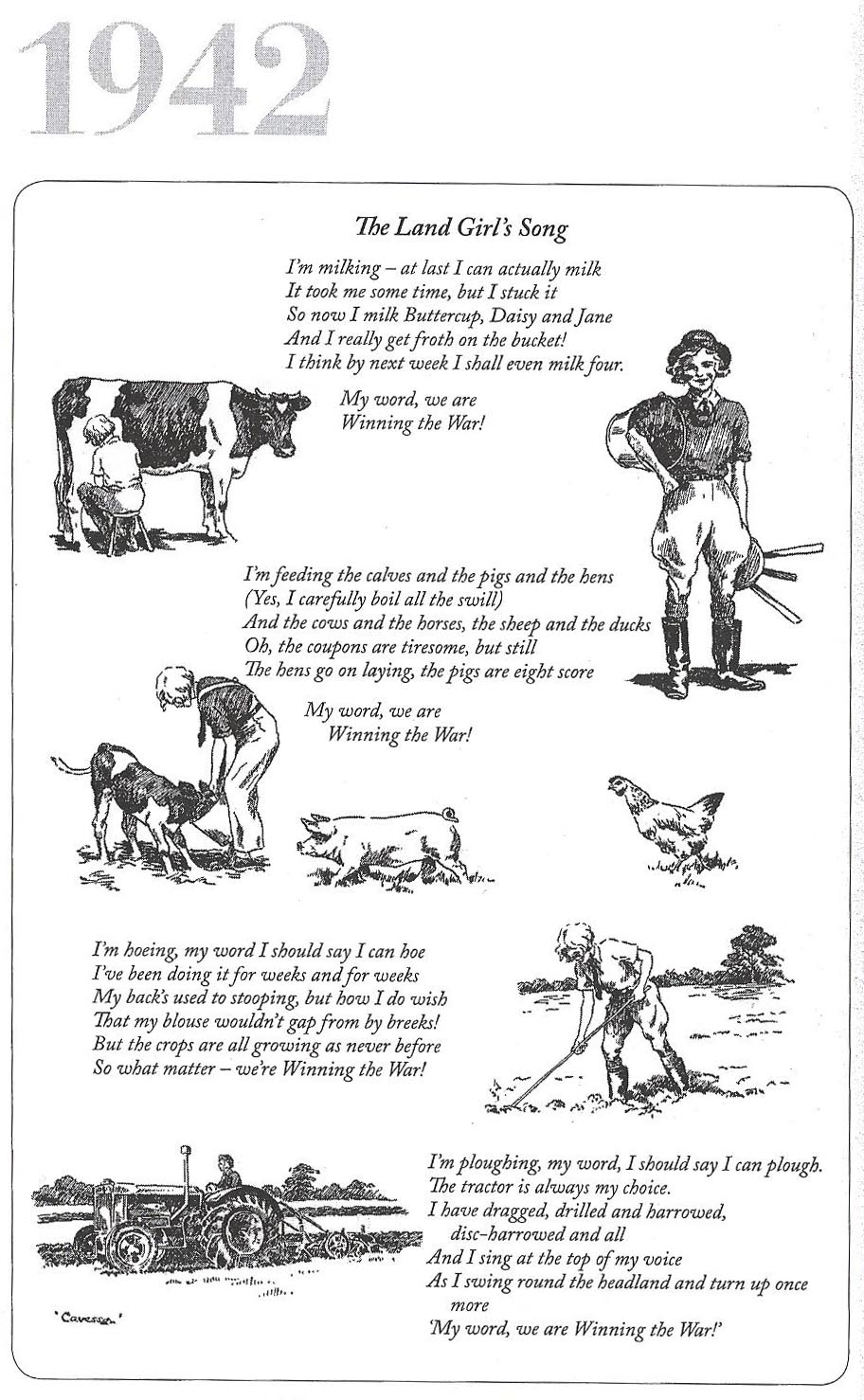 The Land Girl's Song