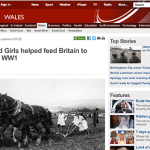 WW1 Article: How Land Girls helped feed Britain to victory in WW1 (Wales)