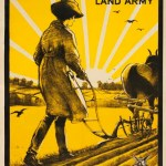 WW1 Recruitment Poster: God Speed the Plough and the Woman Who Drives It