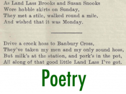 First World War Women's Land Army Archive: Poetry