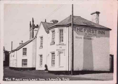 The First and Last Inn - Land's End