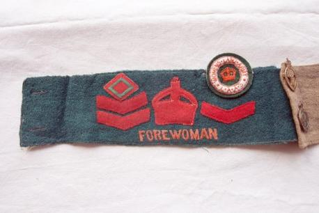 WW1 Women's Land Army Armband Dorothy Sworder Source: Your Local Guardian.co.uk