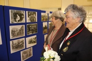 Two Women's Land Army veterans reflect on their contribution to #ww1  + #ww2 during reception hosted by George Eustice