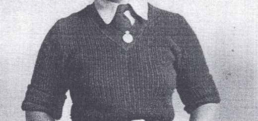 Zeita Trott, aged 17, in her new land girl uniform in the summer of 1942 when she joined the Women's Land Army [WLA] in Bedfordshire. She was based at Bolnhurst hostel in the north of the county and travelled out in mobile gangs each day to work on local farms. She left on medical grounds in 1945 after injury at work. She later married and became Mrs Holes.