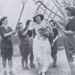 May Photo Of The Month - Britain's First Land Girl May Queen