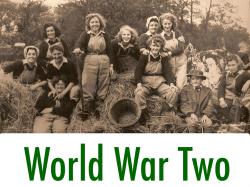 World War Two Women's Land Army