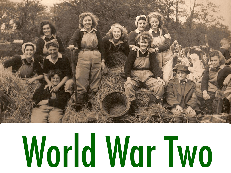 World War Two Women's Land Army