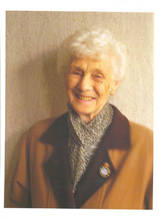 Land Girl veteran, Betty Dugdale.Source: Elisabeth Sweeney (Betty's mother)