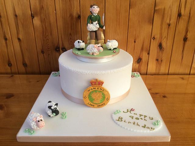 Rebecca's Tastebud Women's Land Army Cake Source: Rebecca's