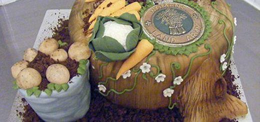 Sarah288 Women's Land Army Cake