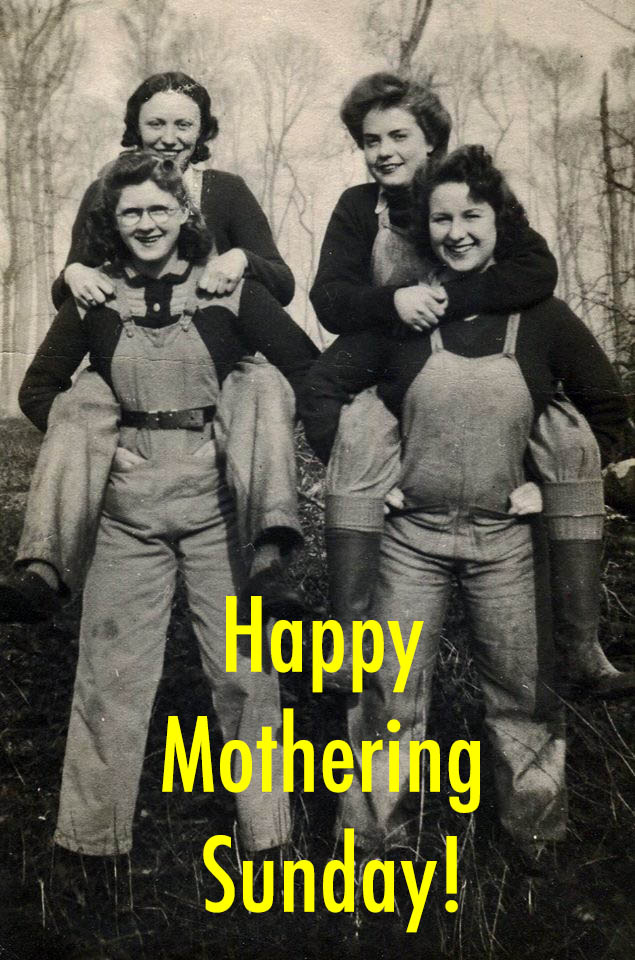 Women's Timber Corps Mothering Sunday Photo