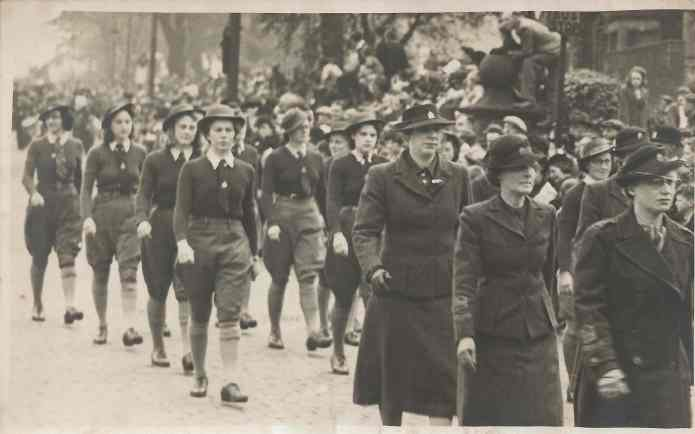 WLA parade in Preston, May 1942?