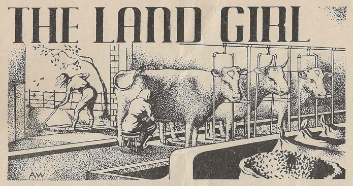 The Land Girl Image January 1944