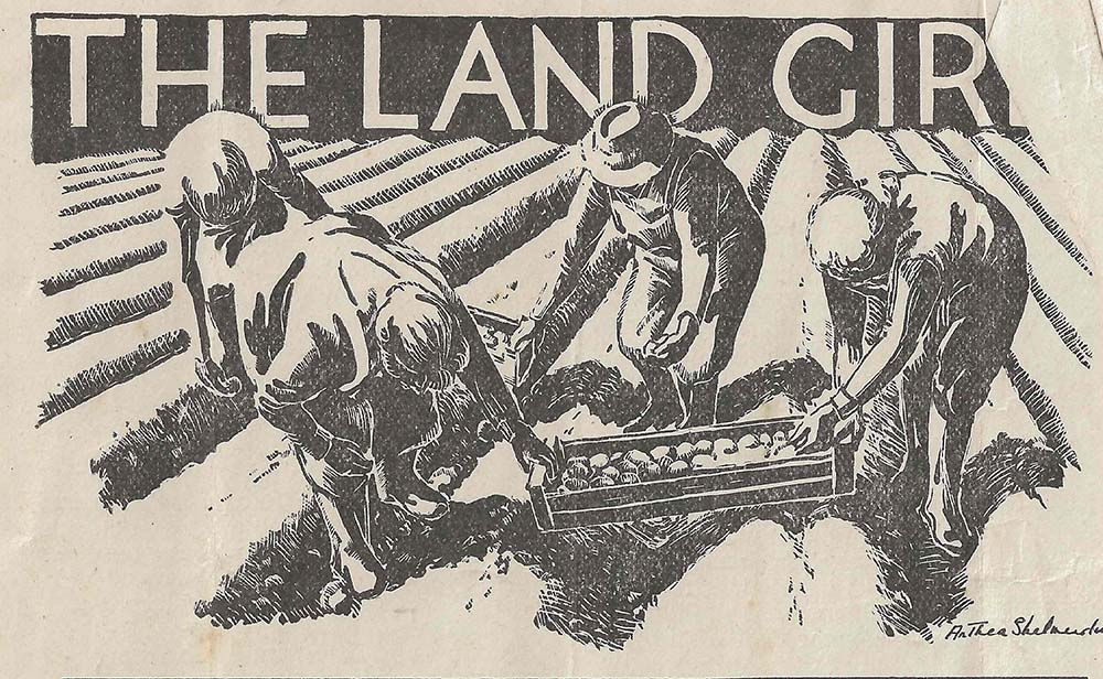 The Land Girl Image January 1947