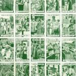National War Savings Committee Land Girl and Lumber Jill WW1 Stamps