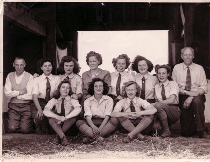 Land Girls at Battina House