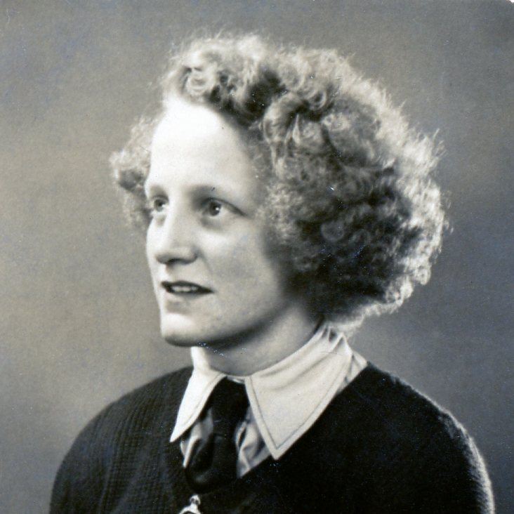 Sylvia Hutchinson in Uniform