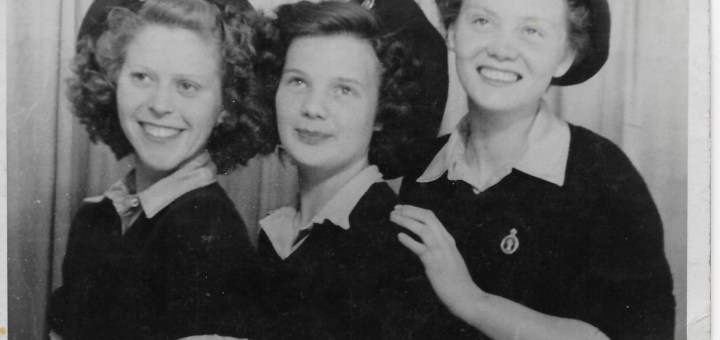 Violet May Budd, Florrie Holl, Martha Coulman