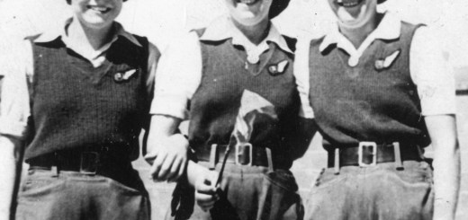 Joan Maunder and Doris and Edna 16 August 1945