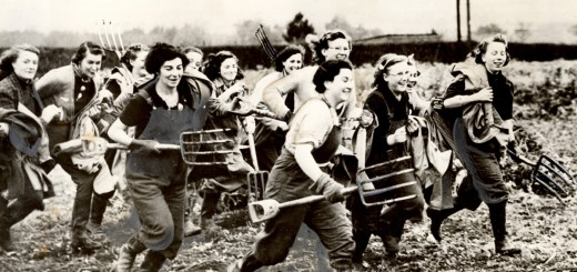 The ploughgal lunchward runs her cheery way featured