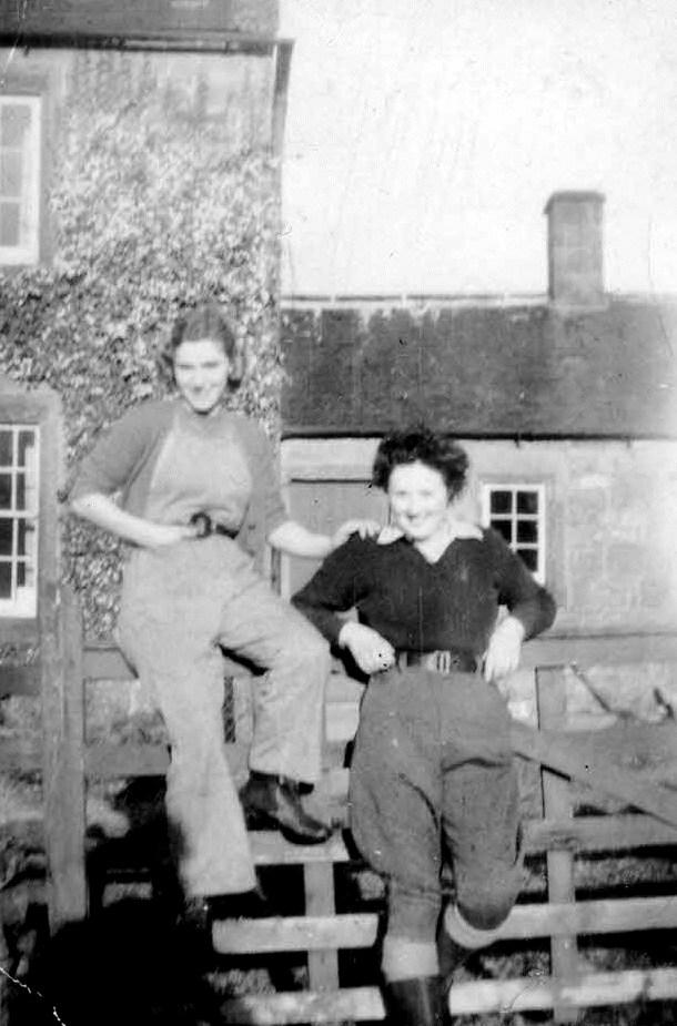 Dora Welsh and Mollie Mitford