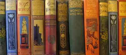 oude collectie van Women's Library in Glasgow