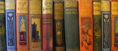 oude collectie van Women's Library in Glasgow