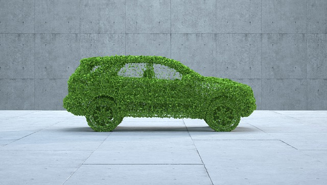 Symbolic of a car that is sustainable or eco-friendly