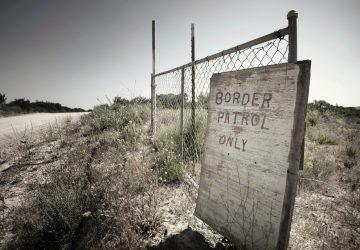 border patrol only sign