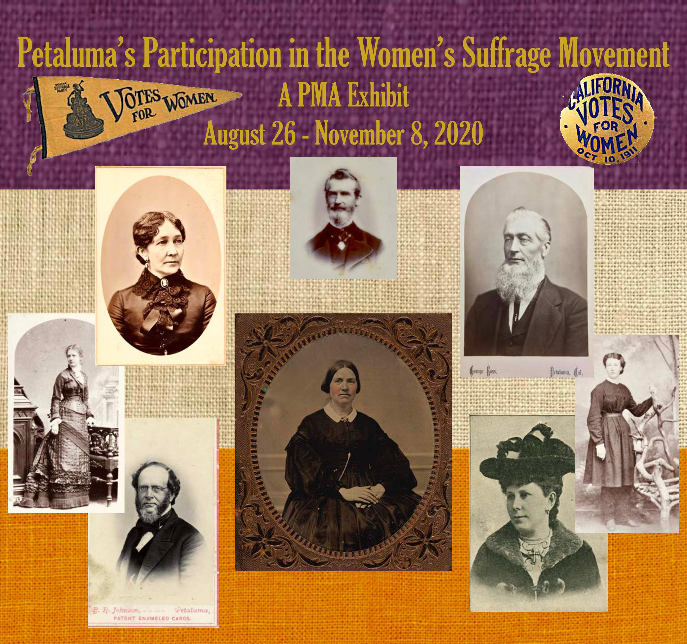 Petalulma Museium Women's Suffrage Exhibit 2020