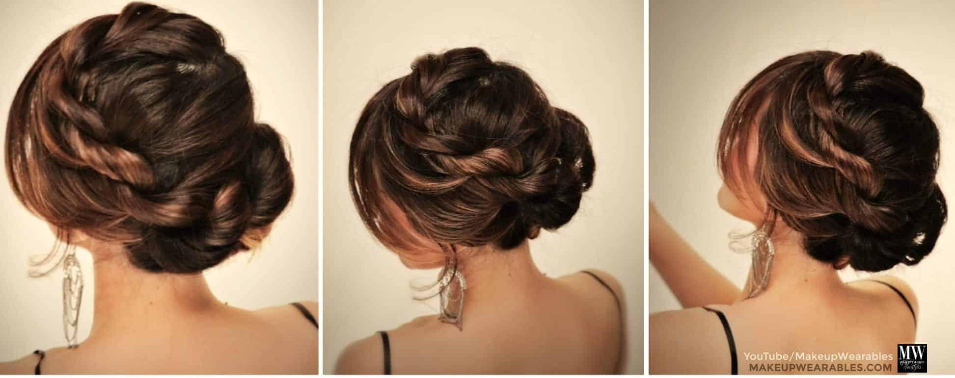 Easy Bun Hairstyles For Long Thick Hair Hrotelrehberii