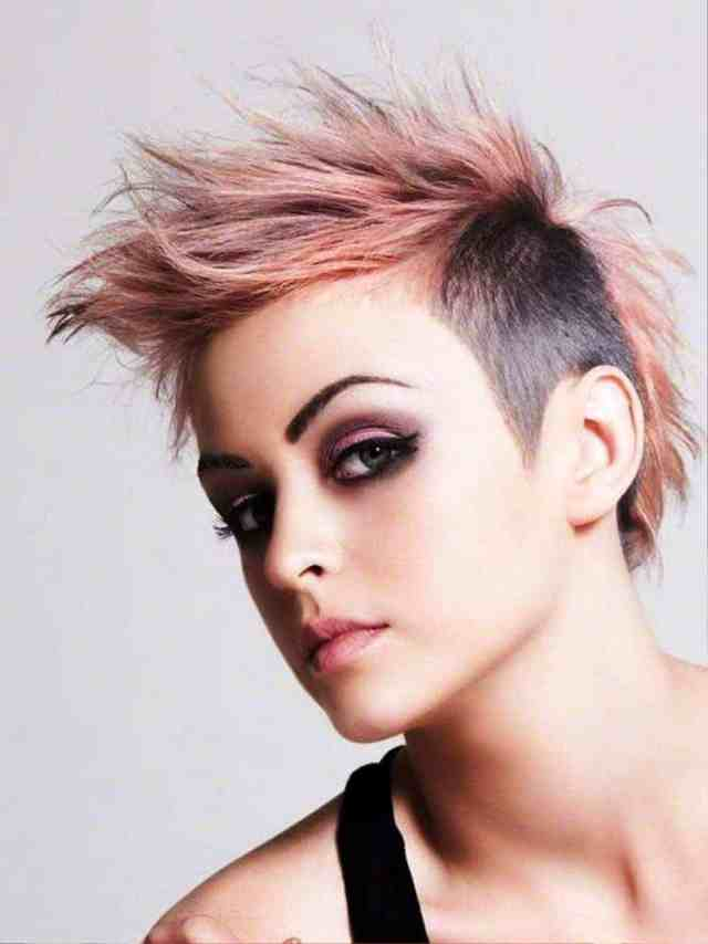 sexy short funky hairstyles for women and ladies
