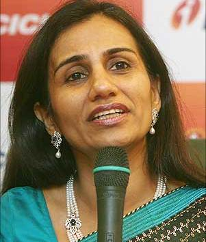 Chanda Kocchar: MD & CEO of ICICI Bank