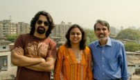 Poor Little Rich Slum: Rashmi Bansal with co-author Deepak Gandhi & photographer Dee Gandhi