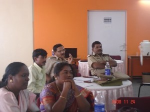 A KHPT sensitisation workshop