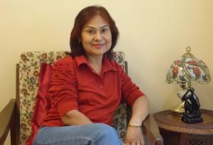 Tanushree Podder author of Escape From Harem
