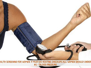 Annual Health Checkup For Women