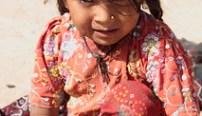 Illiterate girls in India