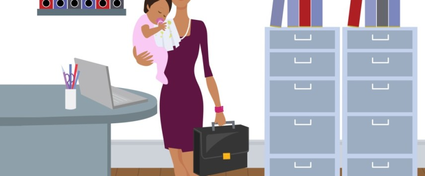 Society enables working mothers