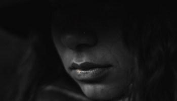 Sad woman closeup