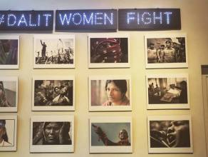 dalit women fight exhibition