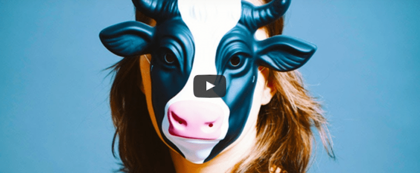 woman-wearing-a-cow-mask