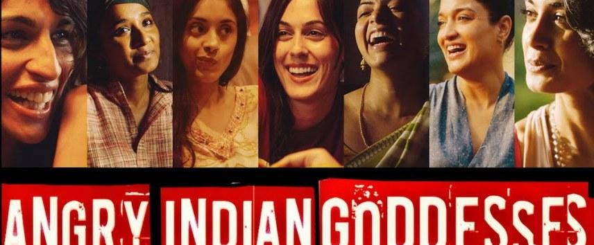 angry Indian goddesses