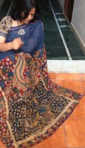 DIY Kalamkari on Cotton