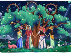 Indian women on Google Doodle